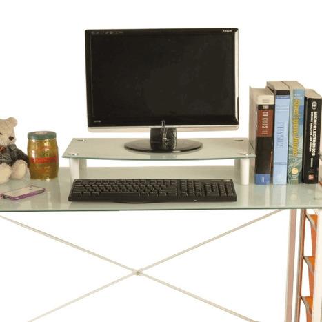 GoMy8466 - 【凱堡】強化玻璃螢幕架(白色) 網路價:599 - GoBest 量販店 | 就是要台灣製造 | Scoop.it