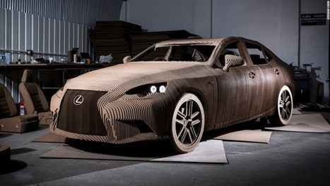 Are You Telling Me You Built A Lexus…Out Of Cardboard? | Strange days indeed... | Scoop.it