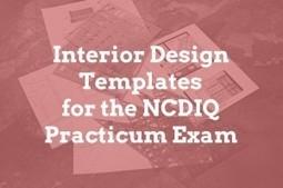 Interior Design Furniture Arrangement Templates for the NCIDQ Exam | Commercial Interior Designers | Scoop.it