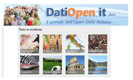 DatiOpen.it, un portale per gli open data rilasciati in Italia | OpenDataBlog | Data Science 4 Public Sector Information | Scoop.it