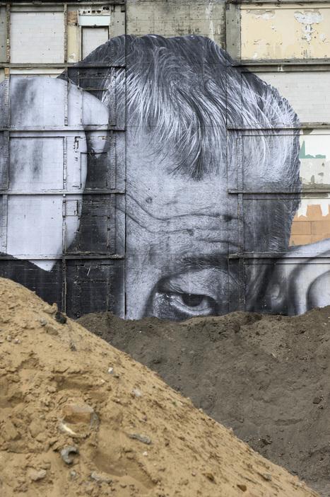 Cuando la calle es un lienzo: impresionantes obras de arte en los edificios de Europa (+fotos) | Experiencias educativas en las aulas del siglo XXI | Scoop.it