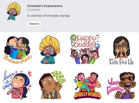Chumbak Introduces Free Stickers On Facebook Messenger - Business 2 Community | risu | Scoop.it