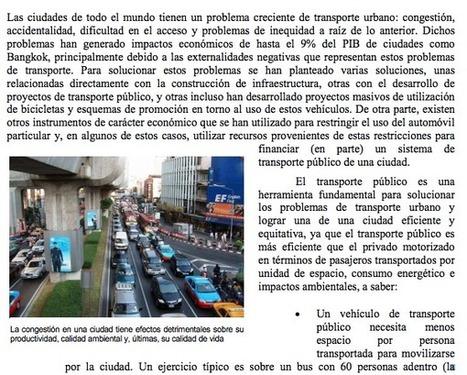 LEA EL DOCUMENTO COMPLETO – Los cambios en los sistemas integrados  de transporte masivo en las principales   ciudades de América Latina | Infraestructura Sostenible | Scoop.it