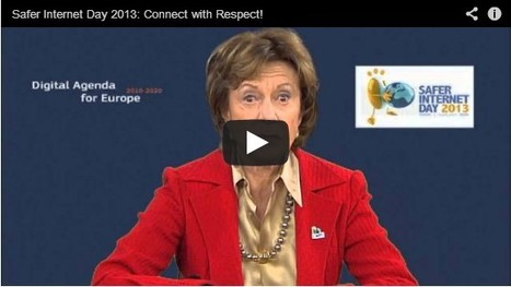 Neelie Kroes blog - Protecting kids online: the industry setting new benchmarks for Safer Internet Day 2013 - European Commission | Aprendiendo a Distancia | Scoop.it