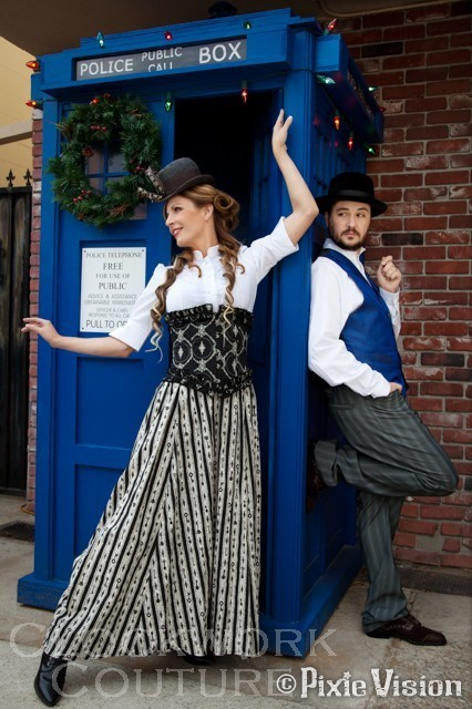 WHOvian Steampunk nerdy to the max RP by Wil and Anne Wheaton | Steampunkerie | Scoop.it