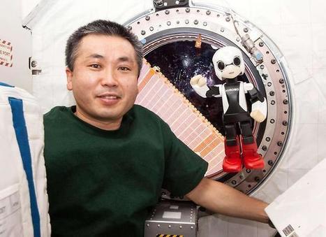 Quand un robot et un cosmonaute discutent dans l'espace - youmag | Aviation & Espace | Scoop.it