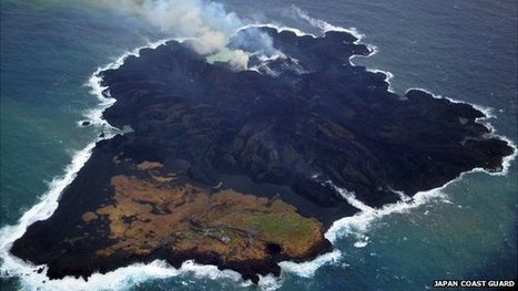 Plate Tectonics in action: Volcanic islands merge in Pacific | Landforms and Landscapes | Scoop.it