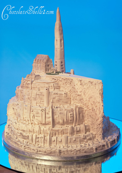 Minas Tirith Cake | 'The Hobbit' Film | Scoop.it
