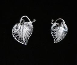 Boucles d'oreille Argent 925 WANGDARI   boucles d'oreille   Scoop.it