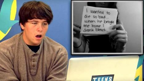 Teens React to Chilling Cyberbullying Video | Cyberbullying & Internet Safety | Scoop.it