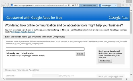 How to Sign-up for Google Apps for Free – Video Tutorial | Technology is the Mind | Scoop.it
