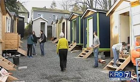 Cool Tiny House Village Opens With Electricity to Care for Seattle Homeless - Good News Network | This Gives Me Hope | Scoop.it