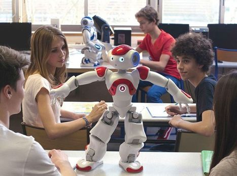 Library's new 'humanoid' an Australian first | School libraries for information literacy and learning! | Scoop.it