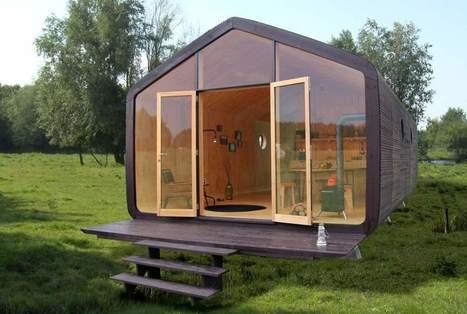 La 'Wikkelhouse', una casa revolucionaria: de cartón y con una vida útil mínima de 50 años - 20minutos.es | ECOLOGICAMENTE DISPUESTOS | Scoop.it