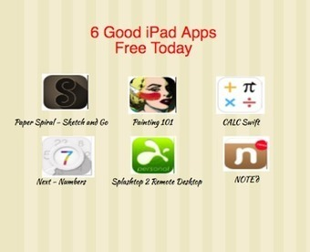 6 Great iPad Apps Free Today- Grab Them | Wiki_Universe | Scoop.it