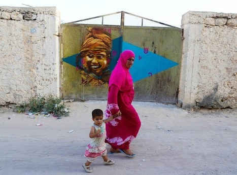 150 Street Artists Covered an Old Tunisian Village in Beautiful Murals | Photo | Scoop.it