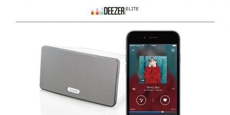 Deezer's High-quality 'Elite' Streaming Service Now Available Worldwide | MUSIC:ENTER | Scoop.it