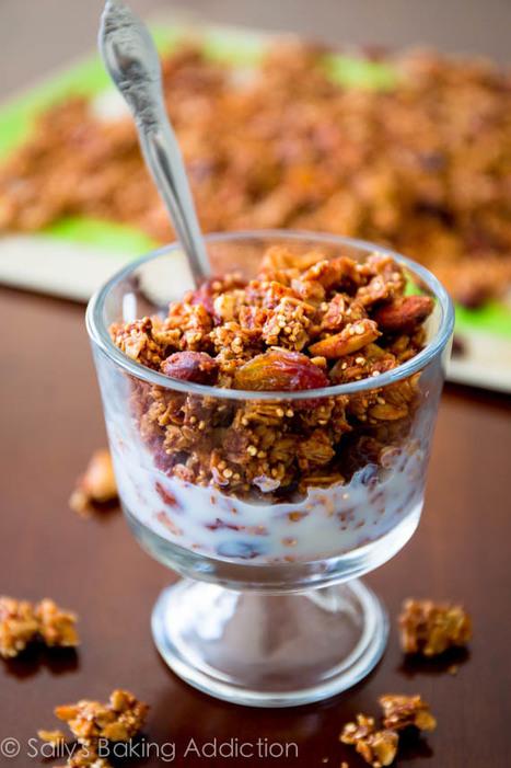#HEALTHYRECIPE - Apple Spice Quinoa Granola | Contemporary culture | Scoop.it