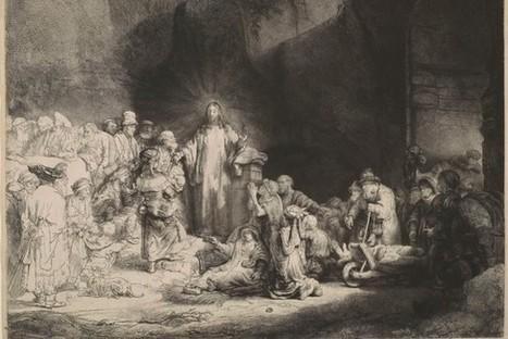 IL Y A 2 ANS...La Morgan Library & Museum numérise et met en ligne la totalité de sa célèbre collection de Rembrandt   Clic France   Scoop.it