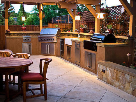 Outdoor Kitchens That Sizzle | All About Kitchen Remodel | Scoop.it