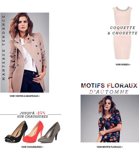 Dorothy Perkins France - Mode | Fashion-Art, Beauté & Déco | Scoop.it