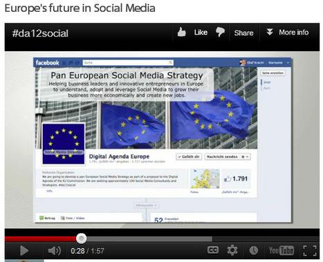Europe's future in Social Media #da12social Vote your Video | Digital Sunrise Europe | Scoop.it