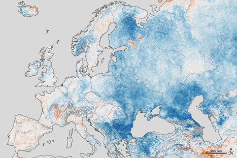 Cold Snap Across Europe : Image of the Day | n flanagan geography400 | Scoop.it
