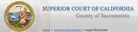 (MULTI) (PDF) - Legal Glossaries | Superior Court of California, County of Sacramento (USA) | Glossarissimo! | Scoop.it