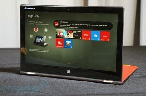 Lenovo announces Yoga 2 Pro with 3,200 x 1,800 screen, slimmer design (hands-on)   technology   Scoop.it