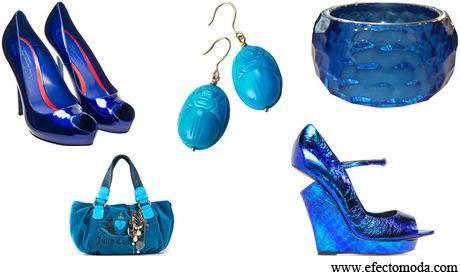 Los Accesorios de color azul Estan de moda. | fashion accesories | Scoop.it