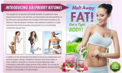 Super Ketone Plus - 100% Risk Free Trial | Burns your harmful | Scoop.it