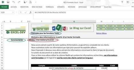 Fichier des fonctions Excel avec explications. | BM Formation | Scoop.it