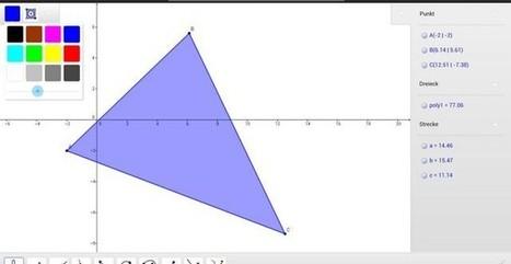 GeoGebra, el software de gráficas matemáticas ahora para iOS y Android   José Antonio   Scoop.it