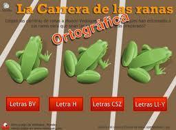 La carrera de ranas ortográfica | Español para los más pequeños | Scoop.it