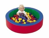 Children's Factory Mini-Nest Ball Pool   Climbing toys   Best Climbing Toys For Toddlers 2014   Scoop.it