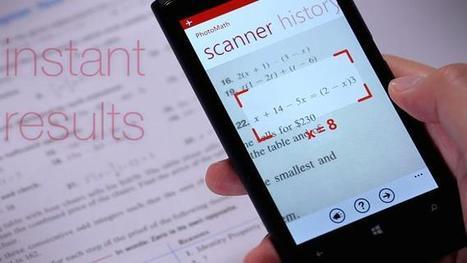 Ingenious new app is every math teacher's nightmare come true | App Articles | Scoop.it