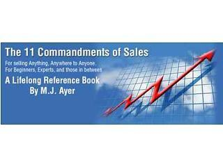 11 Commandments Of Sales | Sales & Marketing | Scoop.it
