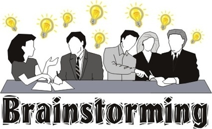"""Perhaps the idea of """"brainstorming"""" doesn't make any sense at all ... 