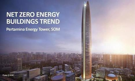 Net Zero Energy Buildings Trend - Pertamina Energy Tower - Ongreening | Energy Efficiency | Scoop.it