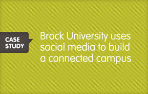 How Brock University uses Social Media to Build a Connected Campus « Radian6 - Social media monitoring tools, social media engagement software and social CRM and marketing from the industry leader ... | Tracking Transmedia | Scoop.it