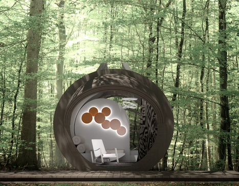 Drop Eco-Hotel by IN-TENTA » Yanko Design | IMMOBILIER 2014 | Scoop.it