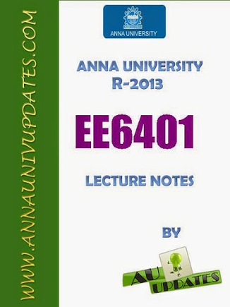 EE6401 Electrical Machines - I 1 Em1 Lecture Notes and Question Bank - 2 mark with answers ~ Anna University Nov Dec 2014 Results- Auupdates | Anna UNiversity Updates | Scoop.it