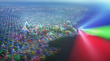 What the World Would Look Like If You Could See Cell Phone Signals | News we like | Scoop.it