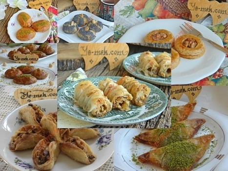 Baklavalık Yufkadan Kolay Bayram Tatlıları   En Kaliteli Yemek Tarifl   Mozaik Pasta   Scoop.it
