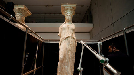 Caryatid Statues, Restored, Are Stars at Athens Museum   Education   Scoop.it