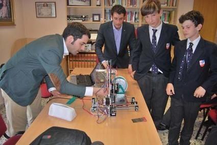 Campus sobre impresión 3D en el Colegio Internacional Peñacorada - Educación 3.0 | Impresora 3D y Educación | Scoop.it