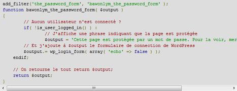 Obliger les utilisateurs à se connecter pour voir les pages privées | Time to Learn | Scoop.it