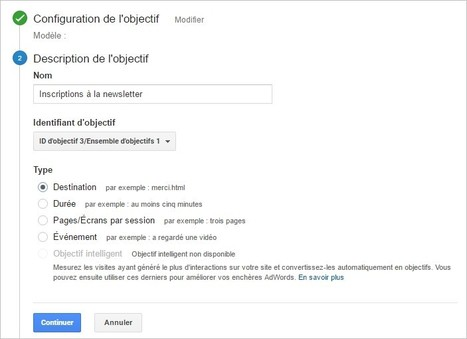 Comment suivre les inscriptions à votre newsletter avec Google Analytics ? | Time to Learn | Scoop.it