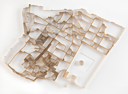 Sculptures of Cities Made of Books about the City | Geography Education | Scoop.it