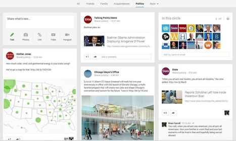 New Google+ Features Hit the Web | Social Media Today | Social Media Useful Info | Scoop.it